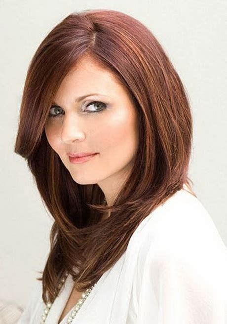 haircuts for round faces thick hair haircuts for long hair and round face