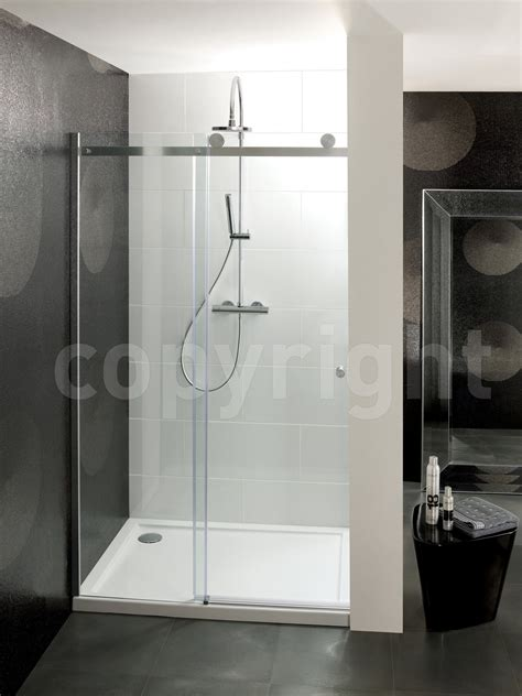 1100mm Sliding Shower Door Simpsons Central Single Sliding Shower Door 1100mm