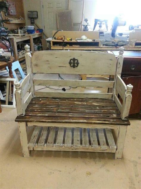 headboard bench with storage headboard bench love storage shelf benchs pinterest