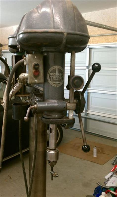photo index walker turner co inc 20 quot floor drill press vintagemachinery org