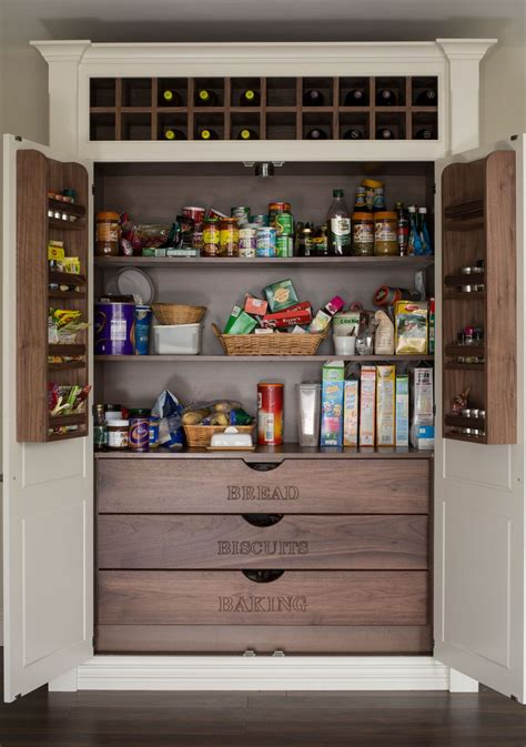 Kitchen Closet Design 15 Kitchen Pantry Ideas With Form And Function