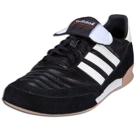 adidas s mundial goal indoor soccer shoes black white