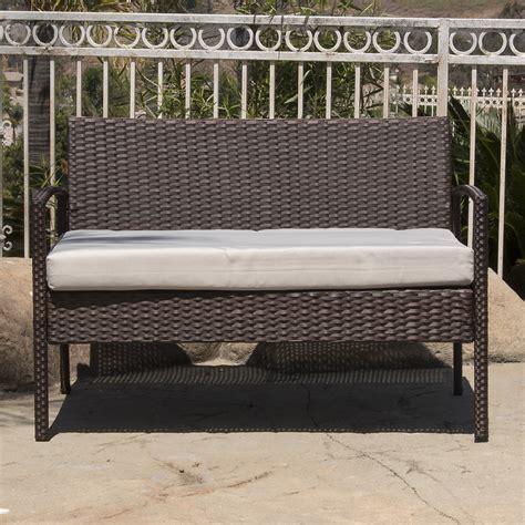 rattan patio furniture sets 4pc rattan wicker patio furniture set sofa chair table
