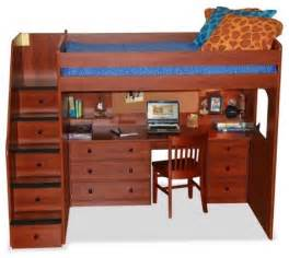 Loft Beds With Desk And Storage Utica Loft Bed With Desk And Storage Modern Beds