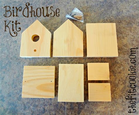 home depot house kits easy diy birdhouse kit project the fit cookie