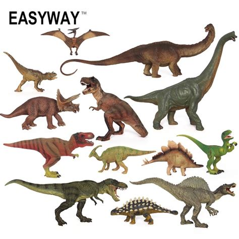 figure pajangan dinosaurus model 8 easyway simulation mini animals dinosaurs figure