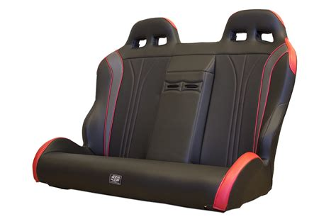 rzr 1000 bench seat twisted stitch rzr seats in stock 03 15 polaris rzr