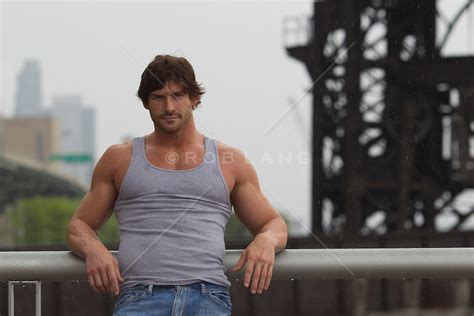 rugged looking handsome rugged outdoors in new york city rob lang images licensing and commissions