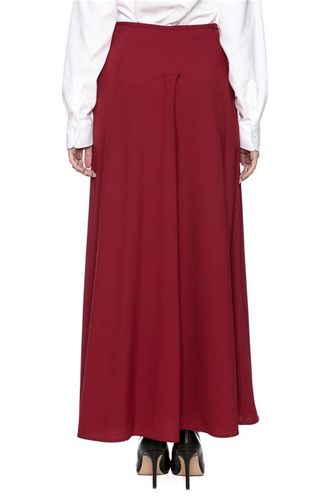 the cue a line maxi skirt from new jersey by pink orchid