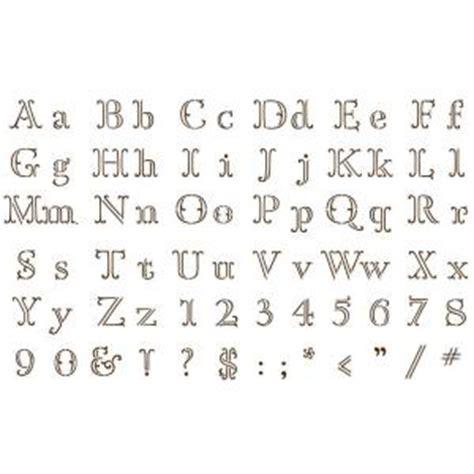 printable letters martha stewart martha stewart crafts ornate alphabet paper stencils 32984