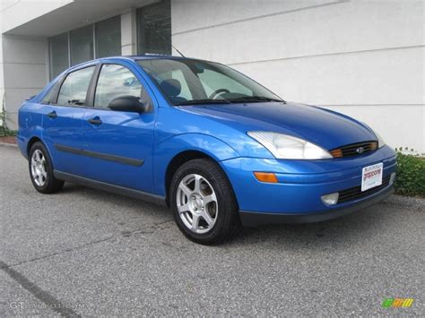 2001 ford focus se 2001 malibu blue metallic ford focus se sedan 18854030