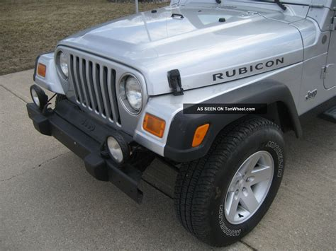 2004 Jeep Wrangler Soft Top 2004 Jeep Wrangler 4 0l 5 Speed A C Soft Top
