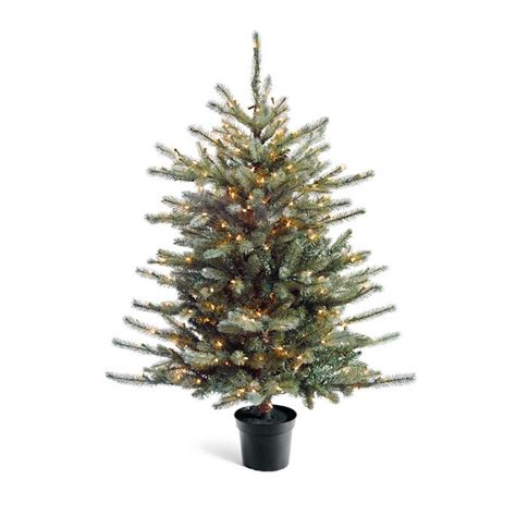 blue spruce artificial tabletop tree tabletop colorado blue spruce tree frontgate