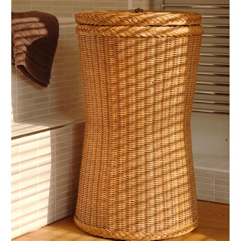 brown laundry brown laundry basket laundry basket candle and blue