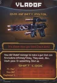 Borderlands 2 Dva Infinity Borderlands 2 Dva Infinity Pistol Dlc Card