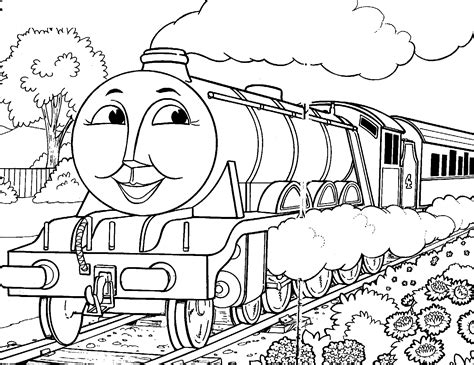 thomas coloring page pdf thomas and friends coloring pages