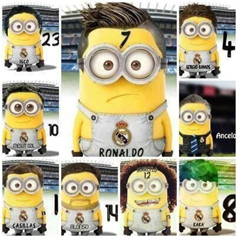 imagenes de minions vestidos de rayados 17 best images about sports on pinterest soccer isco