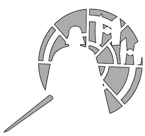darth vader template pin darth vader pumpkin stencil wars stencils