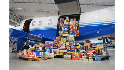Food Pantry Manchester Nh by Charity Takes Flight With Planesense Inc Now Collecting