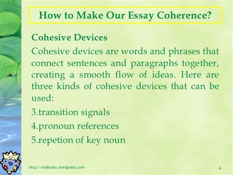 Essay On How To Make by Essay Writing Unity And Coherence