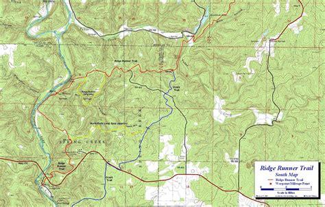 national forest map ozark national forest map images