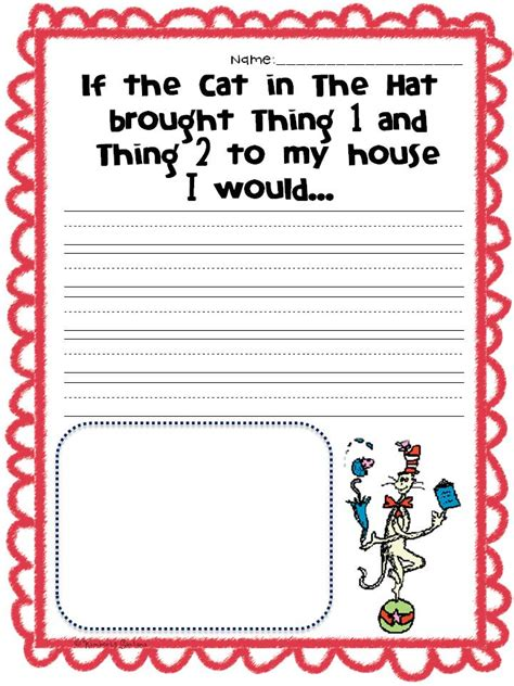 Dr Seuss Essay by Dr Seuss And A Freebie The Learning Tree