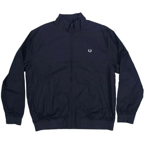 fred perry j3284 sailing jacket navy mens jackets from