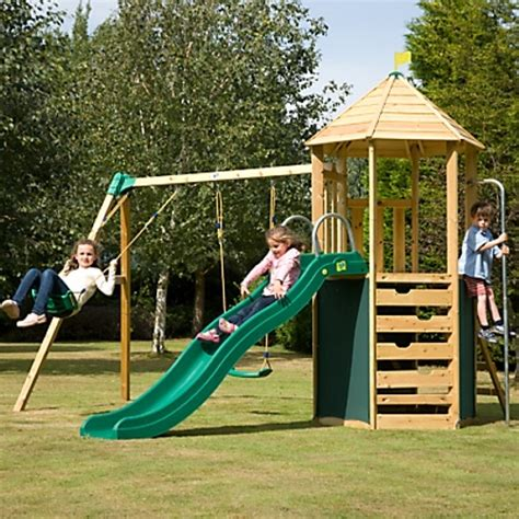 swing and slide set wooden 34 best images about tp toys wooden play centres on