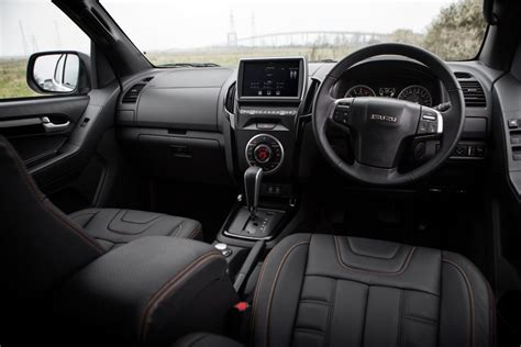isuzu dmax interior isuzu d max 2017 review professional pickup 4x4 magazine