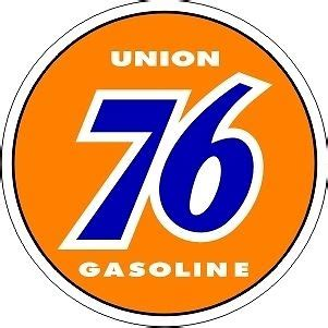 Union 76 Gift Card - vintage union 76 sticker decal 3 quot dia ebay