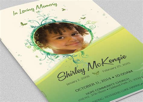 37 Funeral Brochure Templates Free Word Psd Pdf Exle Ideas Free Funeral Program Template Indesign