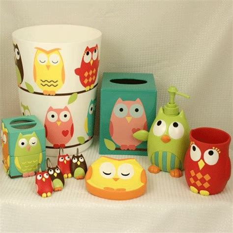 Owl Bathroom Decor Set by Best 25 Owl Bathroom Set Ideas On
