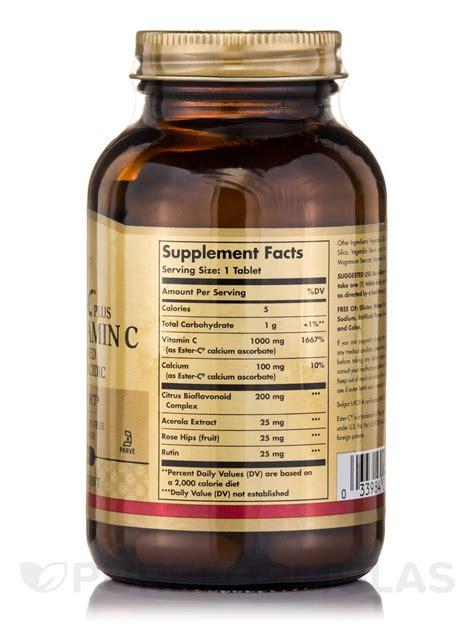 Vitamin Ester C Plus ester c 174 plus vitamin c 1000 mg 90 tablets