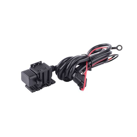 Usb Charger Sepeda Motor Motorcycle 2 Ports For Smartphone T1310 waterproof 12v 2 1a single usb port power socket mobile