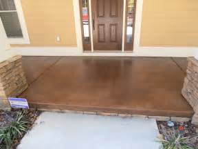 stain concrete patio stained concrete diy how to stain concrete diy