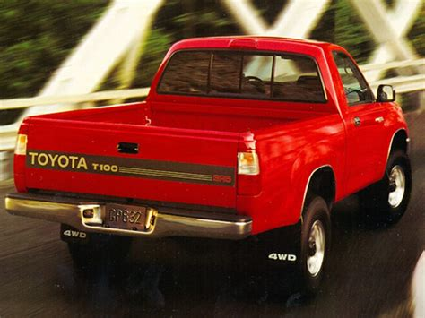 Toyota T100 Review 1995 Toyota T100 Reviews Specs And Prices Cars