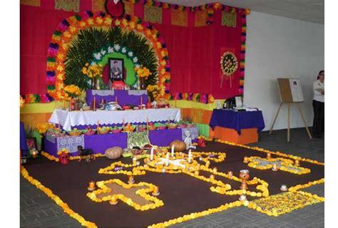 imagenes de como decorar un altar de muertos metro altares de muertos