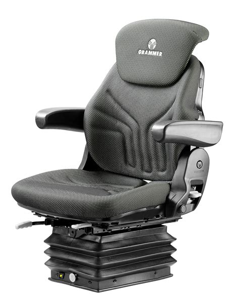 bolstered grammer suspension seat w isolator grammer compacto comfort w seat