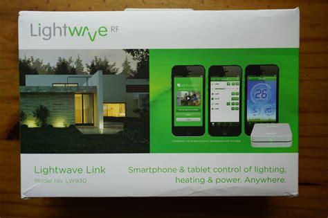 lightwaverf home automation kit reviewed tech news