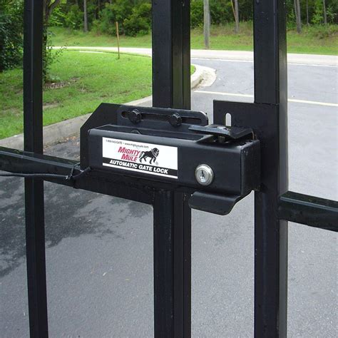 Automatic Door Lock Opener - mighty mule fm143 automatic gate lock for single and dual