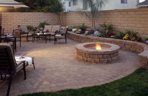 paver designs for backyard gilbert landscape design az landscape creations