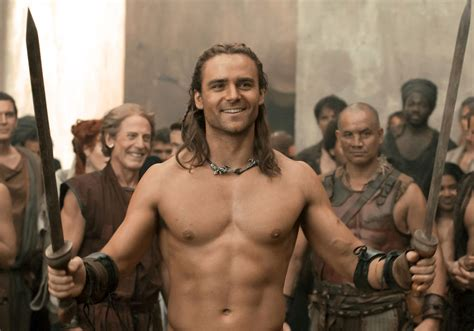 dustin clare spartacus vengeance interview collider
