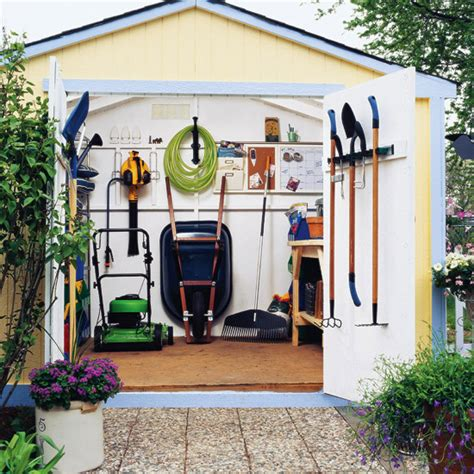 Organizing Tool Shed by Tool Shed Organization Ideas