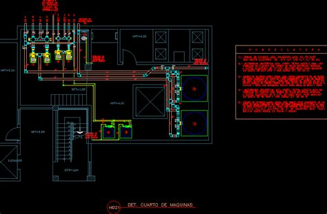 pump room dwg block  autocad designs cad