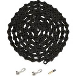 Ybn 9 10 Speed ybn ti nitride black 10 speed chain 116 links 5 9mm wide