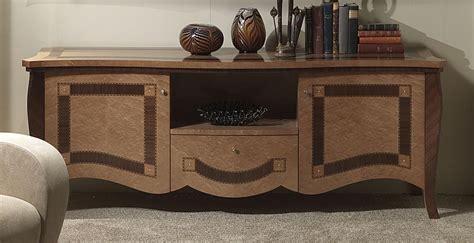 mobili per alberghi porta tv in legno intarsiato per alberghi e ville idfdesign