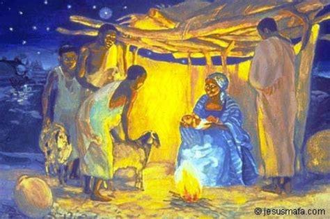 painting on mafa vie de jesus mafa n 176 03 la naissance de j 233 sus lc 2