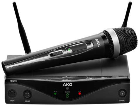 Akg Wms420 Presenter Set Band B2 akg wms420 vocal system band a sweetwater