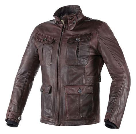 Jaket Dainesee dainese harrison leather jacket dark brown jpg