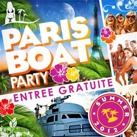 party boat paris paris boat party quot summer 2012 quot concorde atlantique
